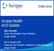 Scripps Health ACO Update